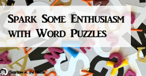 Spark Some Enthusiasm with Word Puzzles