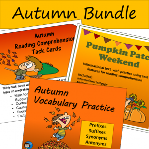 Autumn Reading and Vocabulary Bundle