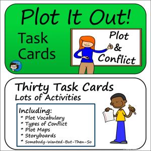 Plot Task Cards