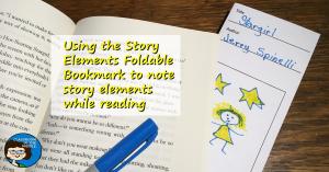 Story Elements Bookmark, photo 2 fb