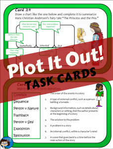 Plot It Out - task cards