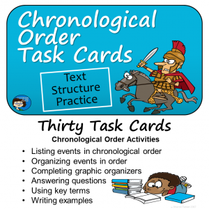 Chronological Order Task Cards