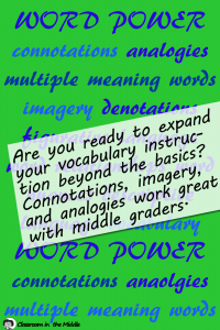 Expanding Vocabulary Instruction
