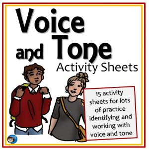 Voice and Tone Activity Sheets