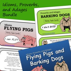 Idioms Adages Proverbs