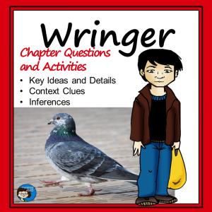 Wringer Novel Study