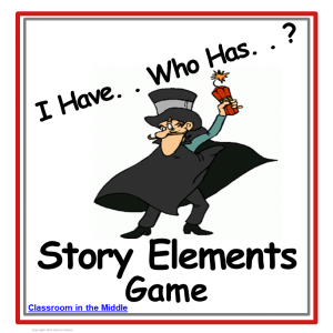 Story Elements I Have Who Has