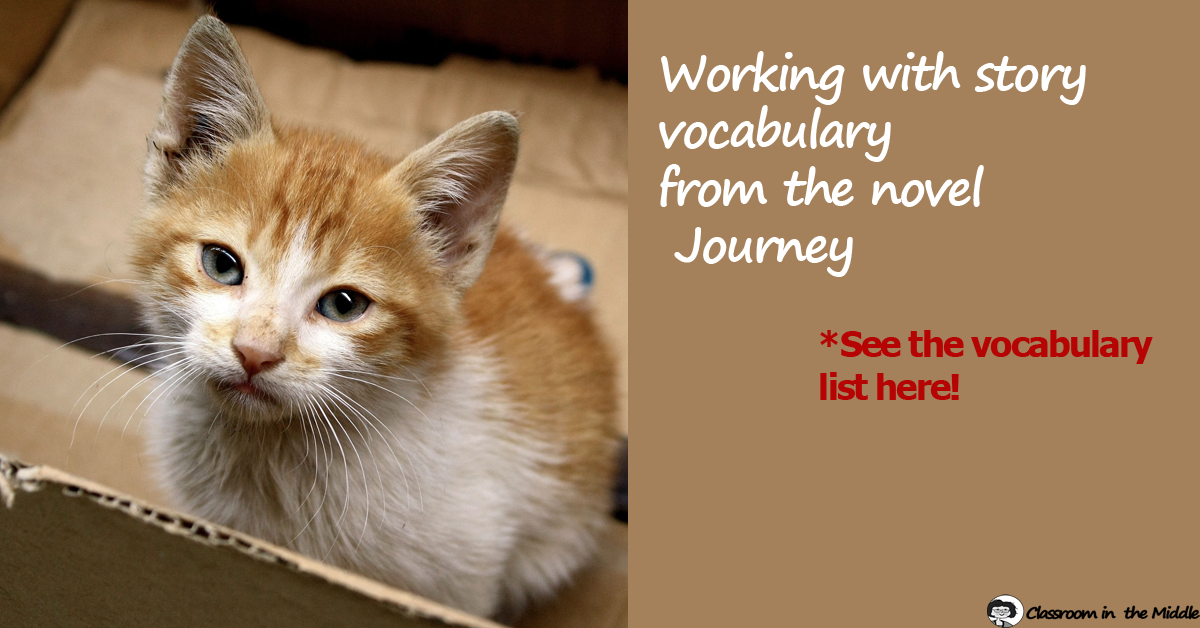 Journey Vocabulary