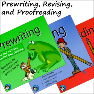 Prewriting, REvising, Proofreading slide presentation