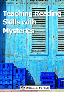 Teaching Reading Skills with Mysteries pin