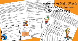 Autumn Activity Sheets for Free