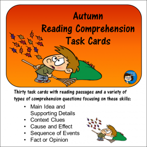 Autumn Task Cards