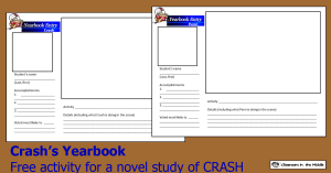 Crash's Yearbook freebie