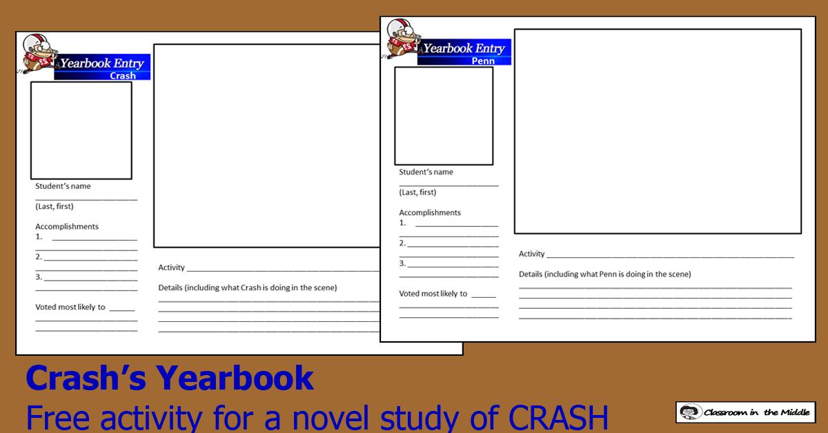 Crash's Yearbook freebie
