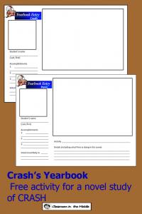 Crash's Yearbook pin