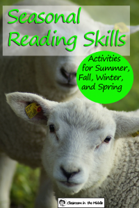 Seasonal Reading Skills - Spring pin