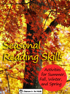 Seasonal Reading Skills