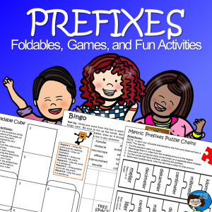 Prefixes - Foldables, Games, and Fun Activities