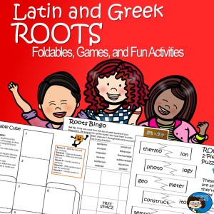 Latin and Greek Roots Fun Activities