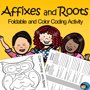 Affixes and Roots free resource