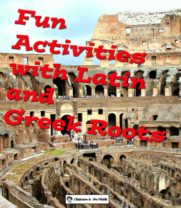 Fun Activities with Latin and Greek Roots
