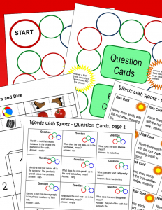 Latin and Greek Roots Game