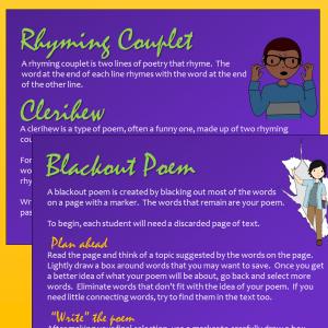Poems to Write pkg slide 4