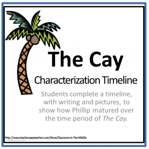 The Cay Characterization activity free