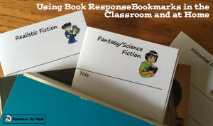 Using Book Response Bookmarks