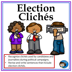 Election Cliches Free activities