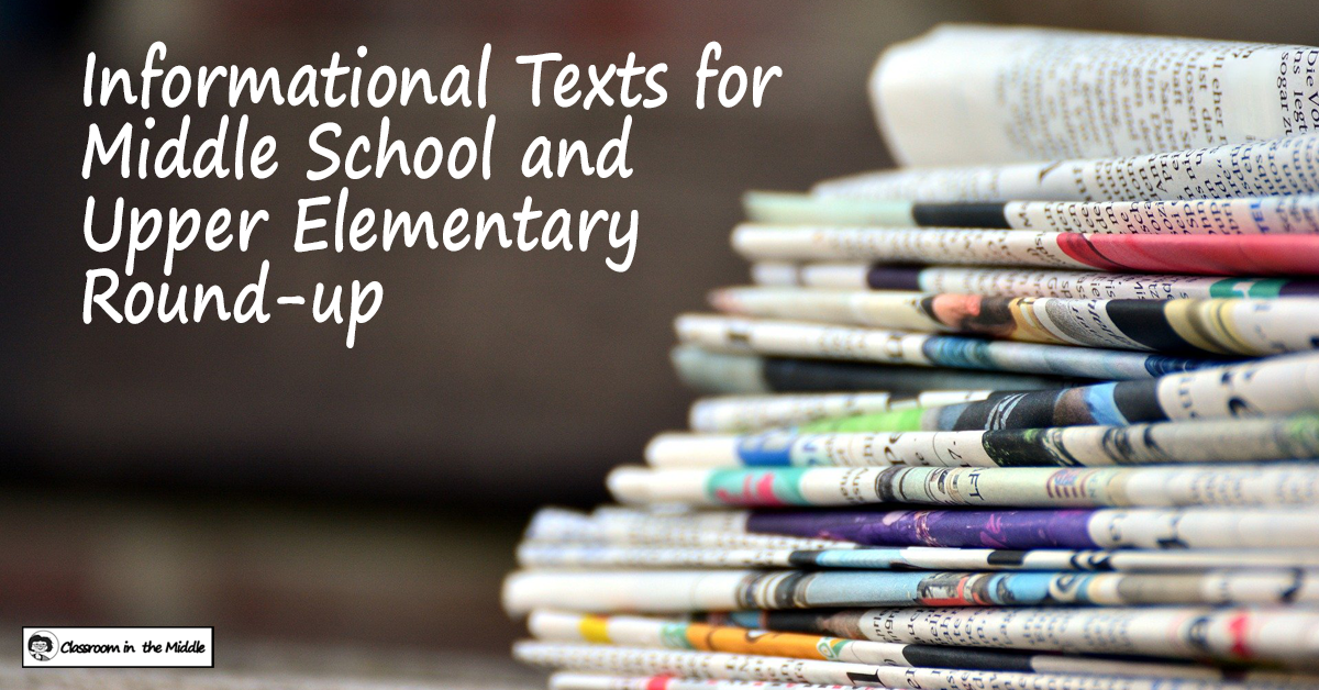 Informational Texts Roundup