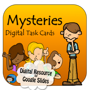 Mysteries Digital Task Cards