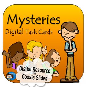 Mysteries Digital Task Cards
