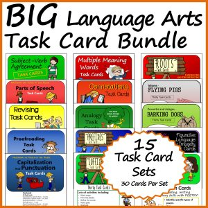 BIG LA Task Card Bundle