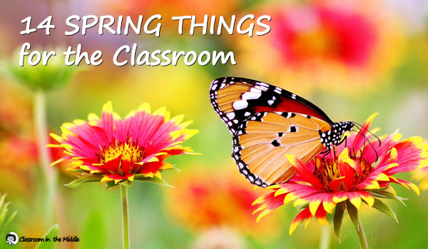 14 Spring things for the Classroom