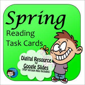 Spring Digital Task Cards