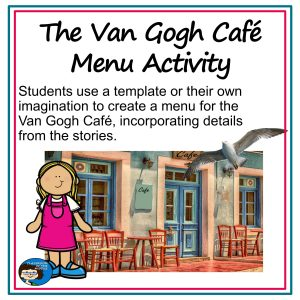 The Van Gogh Cafe Menu Activity