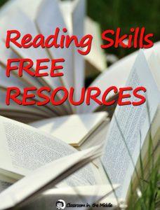 Reading Skills Free Resources