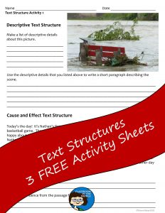 Text Structures Free Activity