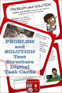Problem and Solution Digital Task Cards