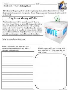 Media Literacy Free Activity Sheets