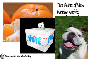 Two Points of View Writing Activity